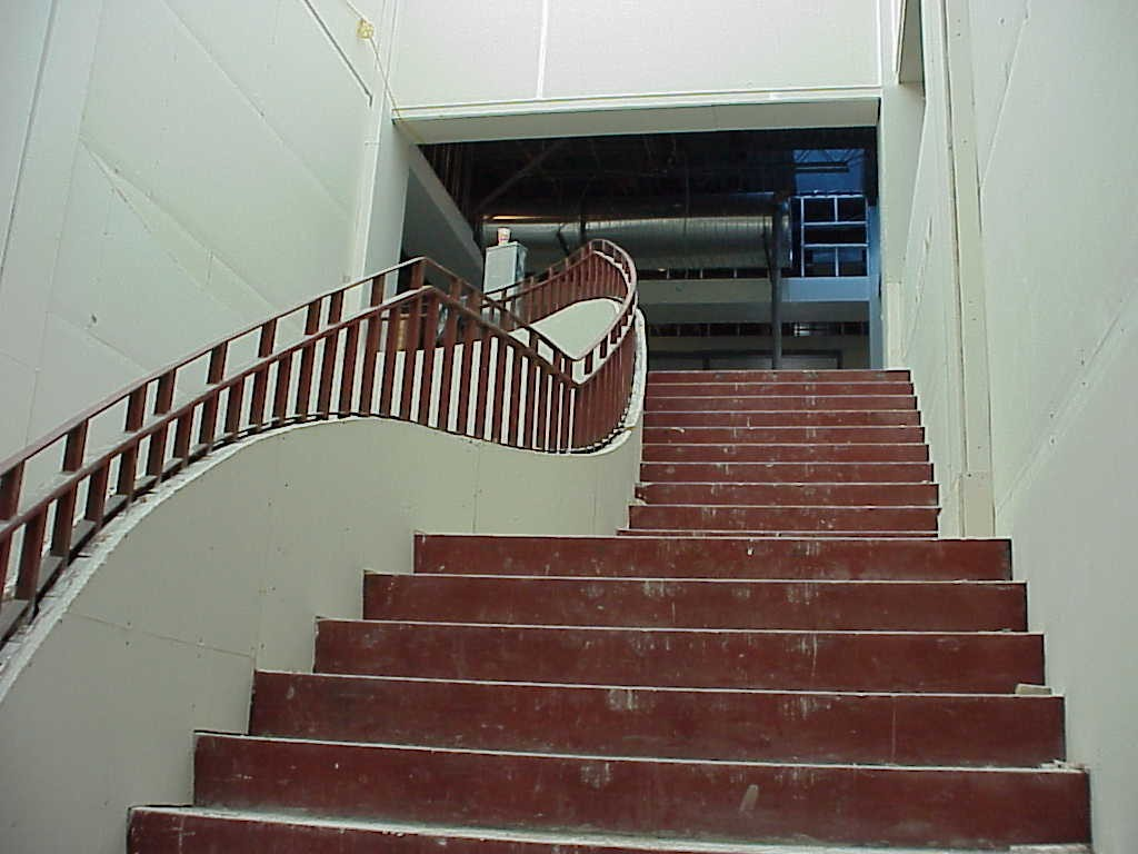 Curved Stairs Pyramid Acoustics Inc