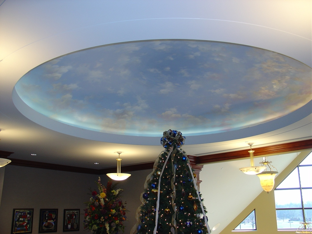 Ceiling domes with lighting Kitchen Architectural Ceiling Domes Dome Ceilings Pyramid Acoustics Inc